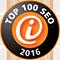 Top 100 SEO Agenturen Plakette