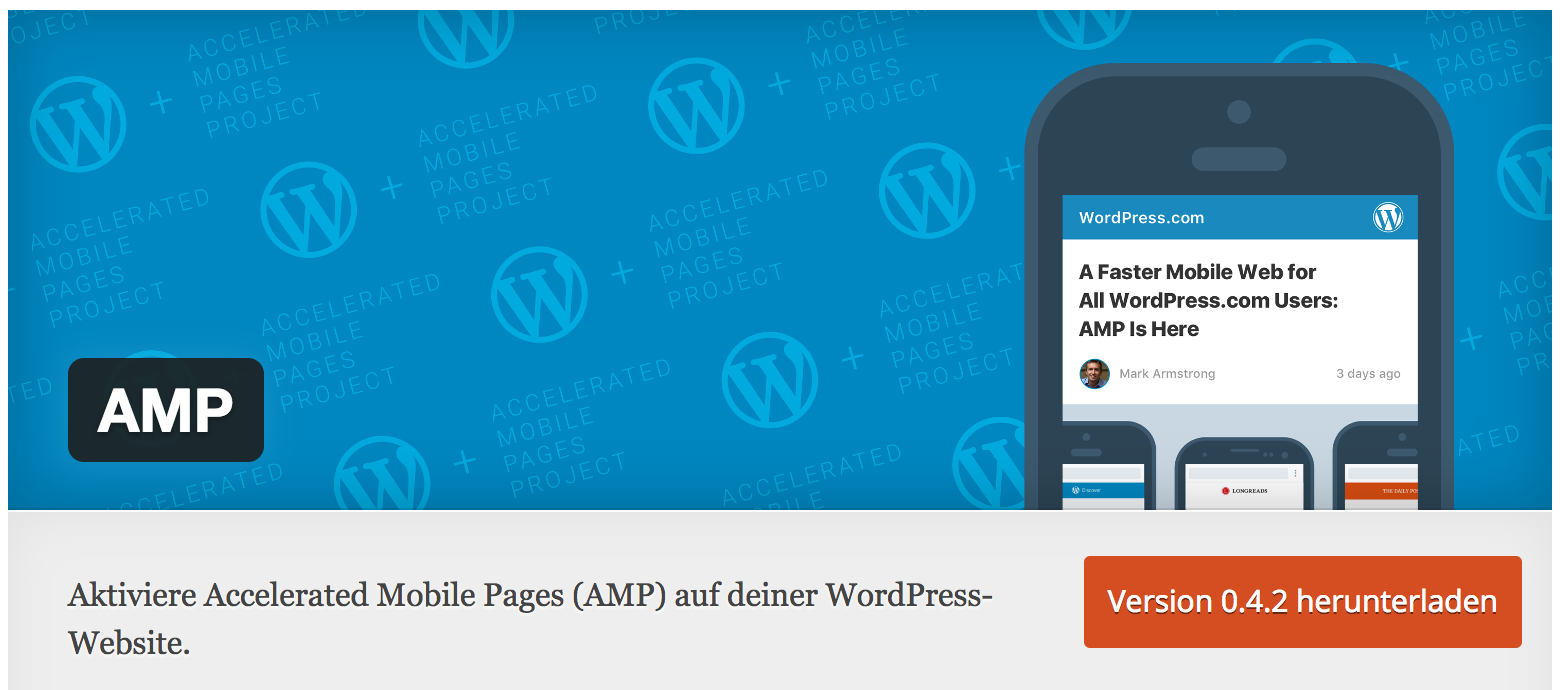 AMP Plugin für WordPress