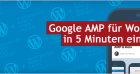 Google AMP für Wordpress