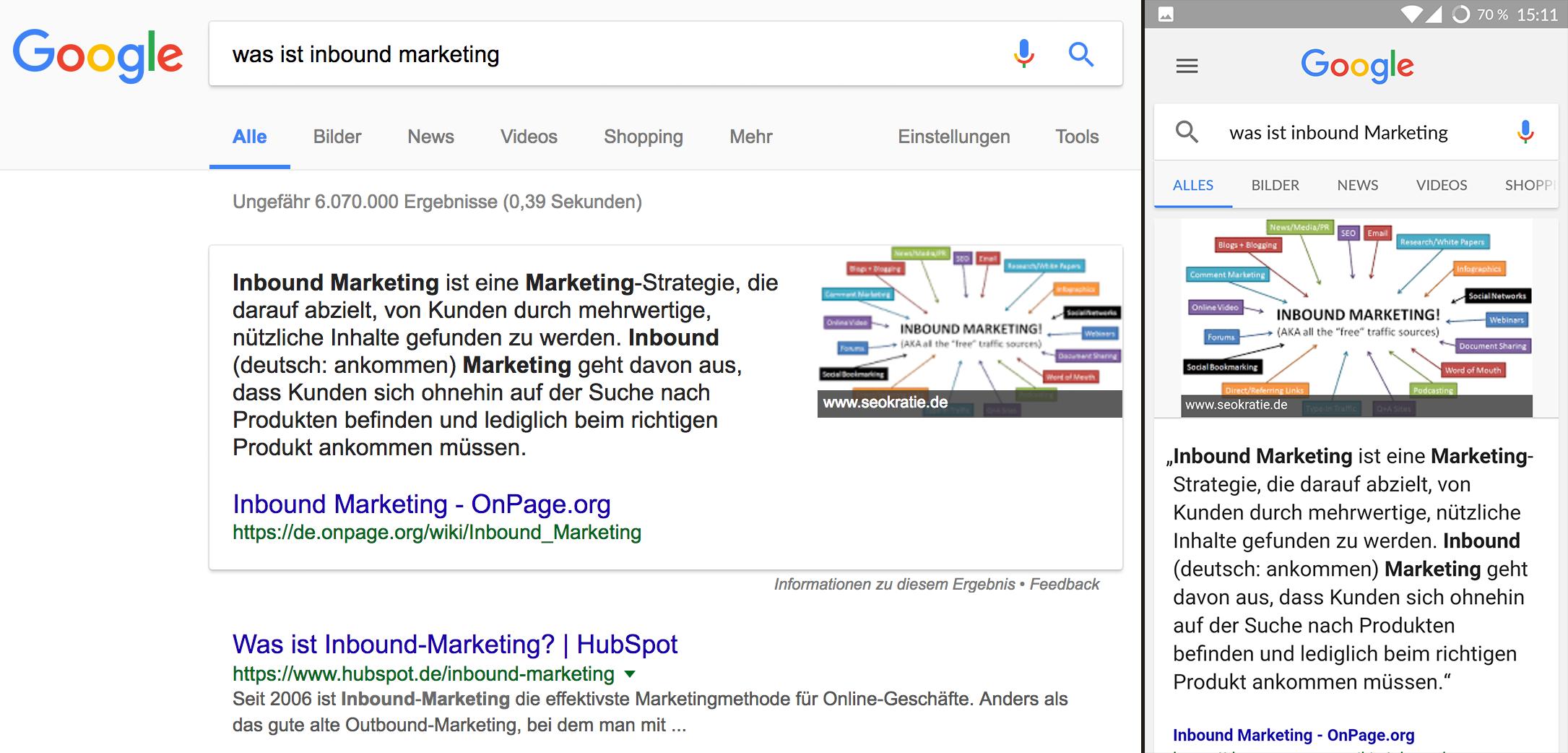Was ist Inbound Marketing Snippet