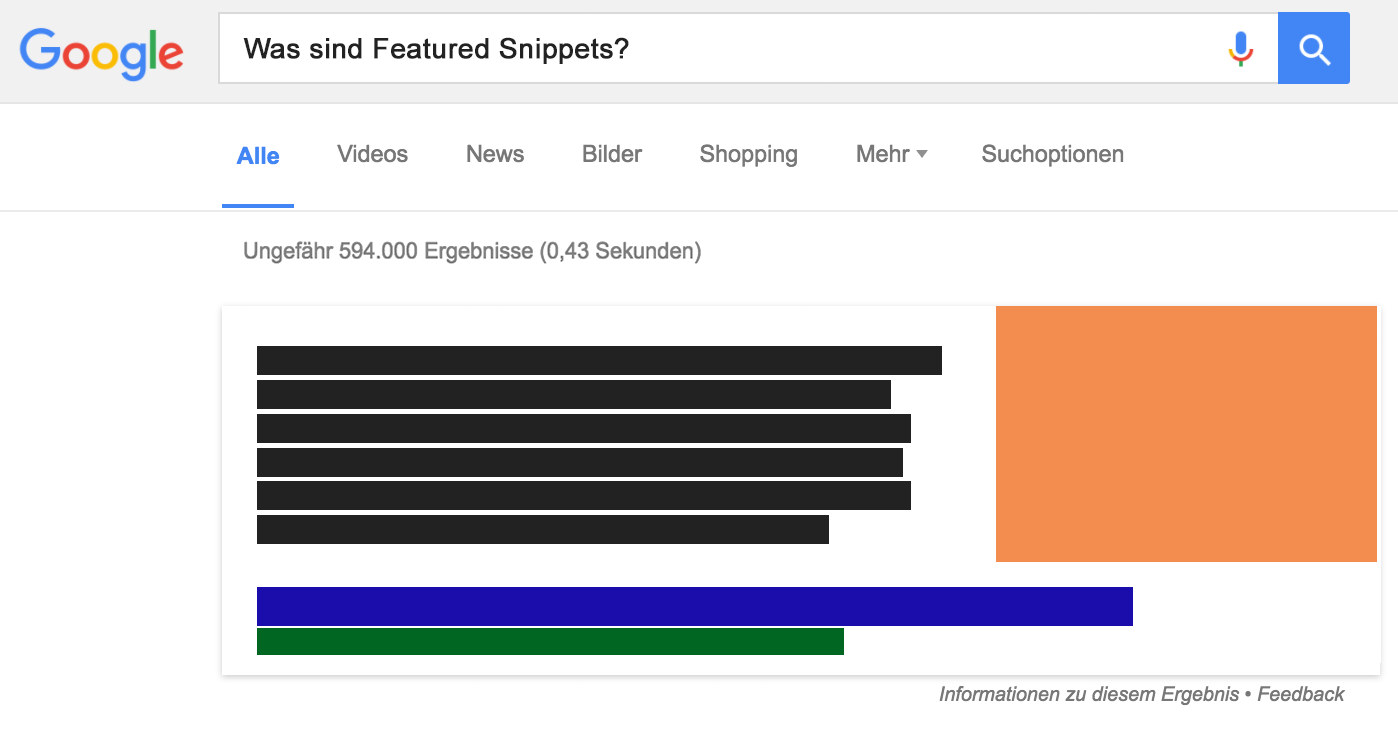 Was sind Featured Snippets?